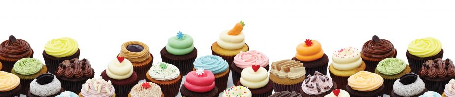 Twelve Cupcakes Handcrafted With Love Baked Fresh Daily
